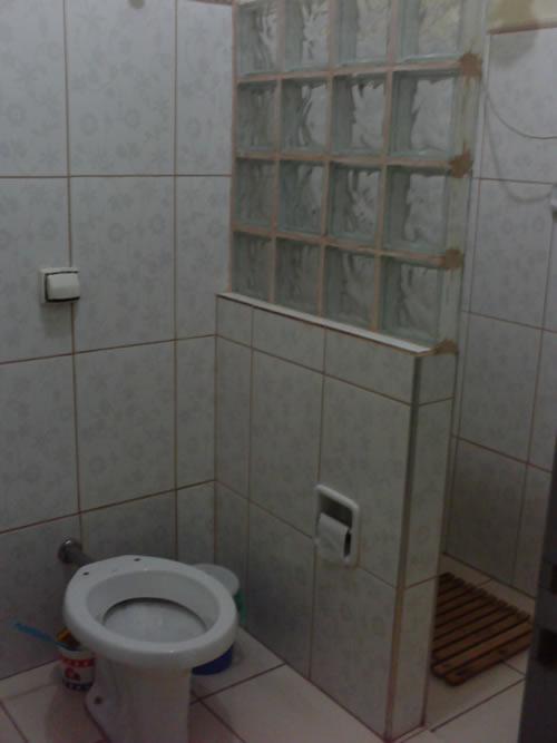 Gabinete Para Banheiro Tijolo de vidro para banheiro -> Banheiro Decorado Com Bloco De Vidro