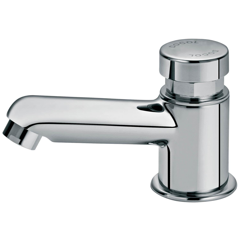 Torneira de Pressão para Banheiro  Bonitas e Modernas  Construdeia -> Torneira Para Pia De Banheiro Automatica
