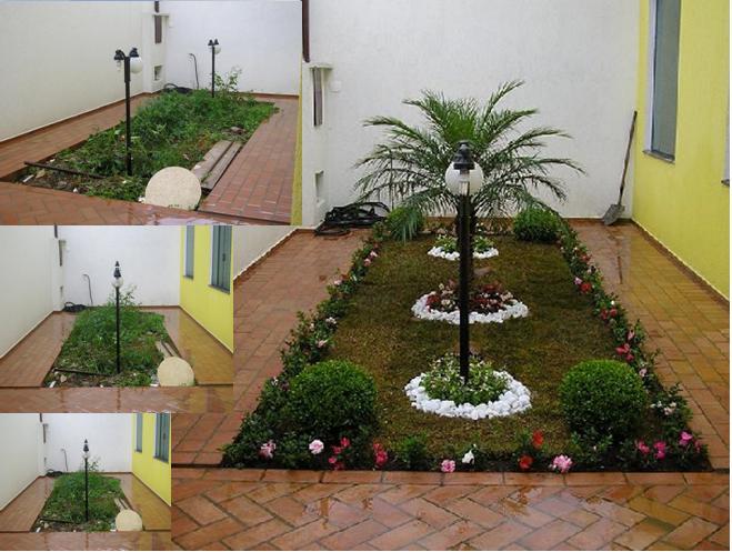 ideias para decorar meu jardim:Casa com jardim – Decoração e Jardim