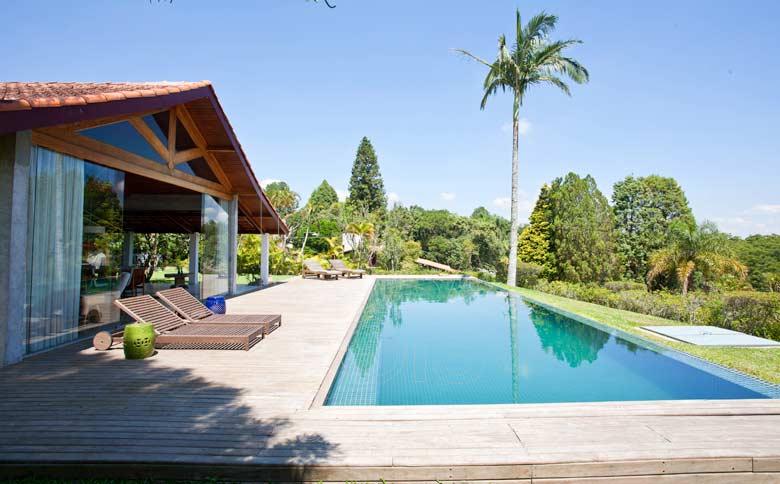 Casa de campo com piscina for Piscinas para casas