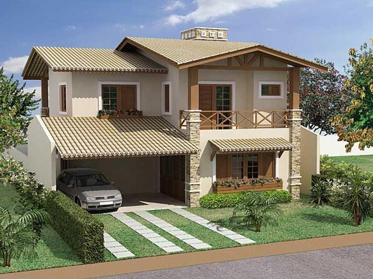 Casa com garagem im veis e imobili ria - Crear casas 3d ...