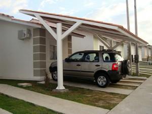 Cobertura para Garagem