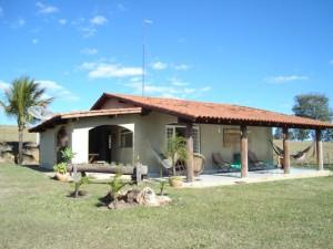 Exterior de Casa na Fazenda