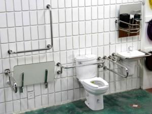 Banheiro com Adaptadores