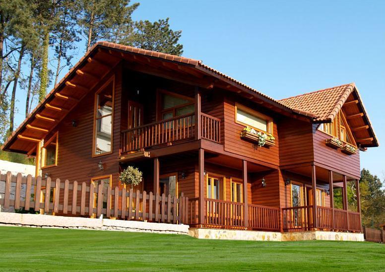Casas americana de madeira plantas e modelos - Fotos de casas americanas ...