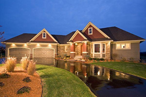 Casas americana de luxo modelos e cores - Casas americanas modernas ...