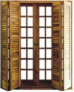 Porta Balcão Colonial
