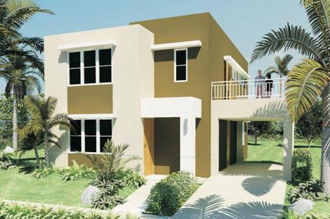Cores para casas modernas tintas e texturas for Cores modernas para fachadas de casas 2013
