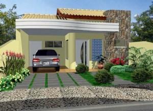 Fachada de Casas Térreas