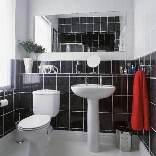 Pisos e azulejos para banheiro for Pisos decorados minimalistas