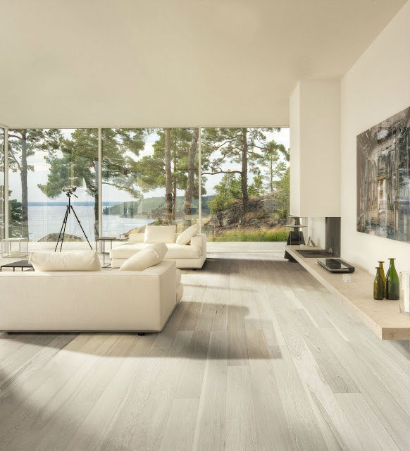 Piso de madeira branco porcelanato e cer mica for Casa classica collection laminate flooring