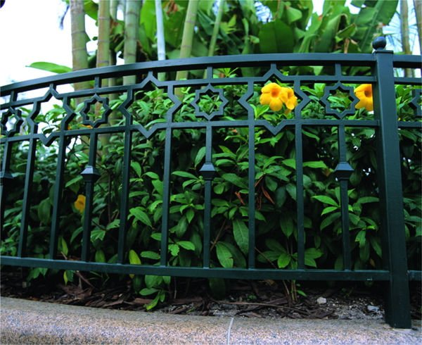 cerca de jardim ferro:Wrought Iron Fence
