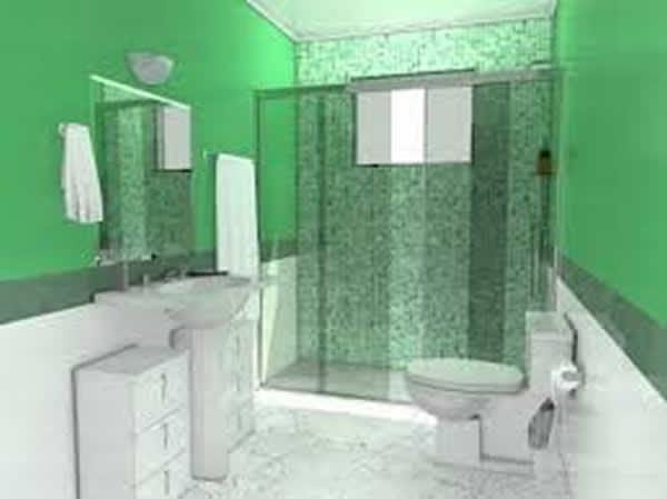 Cerâmica para Banheiro  Vasos Sanitários e Pisos  Construdeiacom -> Decoracao De Banheiro Ceramica