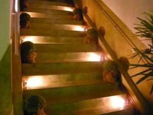 Iluminação para Escada