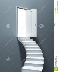 Porta para Escada