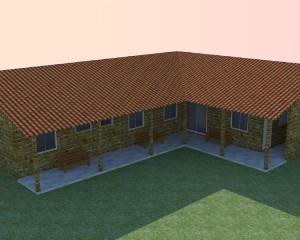 Projeto de Casas em L