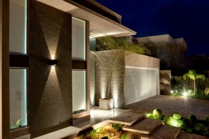 Muro de Casas Modernas