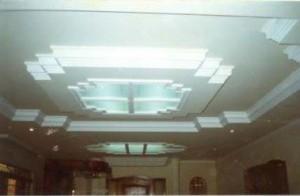 Teto com Iluminação LED