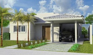 Garagem Residencial Lateral