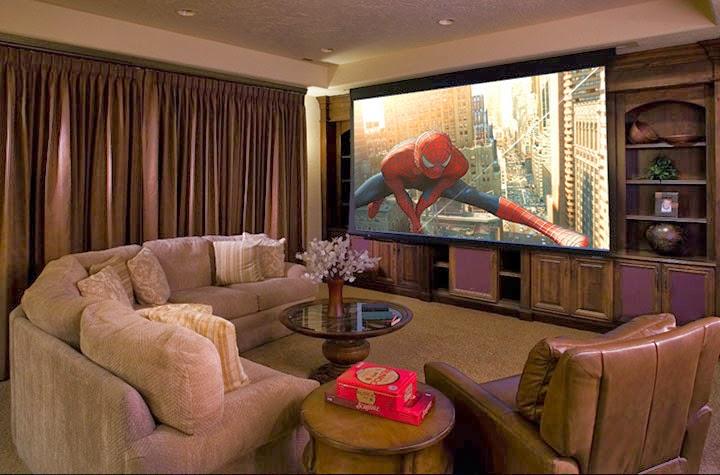 Sala De Estar Mais Tv ~ Construção de Sala de TV  Planejada e Moderna  Construdeiacom