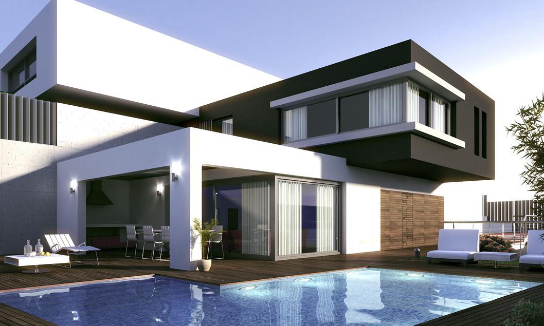 Constru o moderna para 2015 for Casas modernas 2015