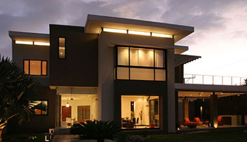 Fachada de casas minimalista projetos e modernas for Mejores fachadas de casas modernas