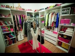 Closets com Designer Feminino