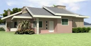 Telhados Modernos de Casas Térreas