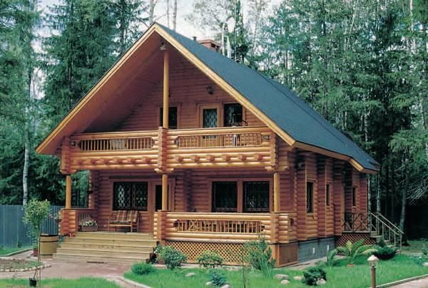Id ias de casa de madeira constru o e decora o - Casas de madera pequenas y baratas ...