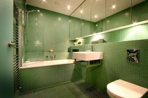Azulejo para Banheiro Verde