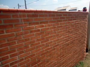 Muro de Tijolo á Vista