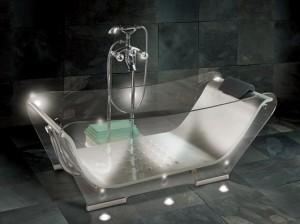 Banheira Transparente
