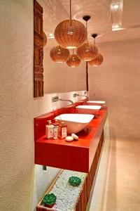 Lustre Rústico para Banheiro