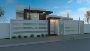 Modelos de Muros Residenciais