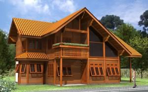 Casas Planejadas de Madeira