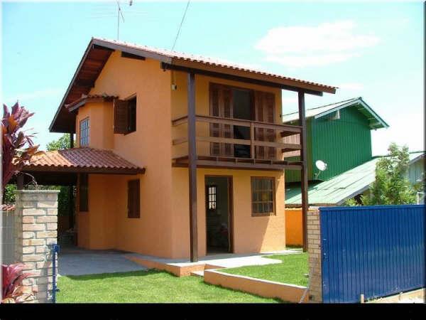 Casas simples planejadas projetos e imagens for Fotos de casas modernas simples