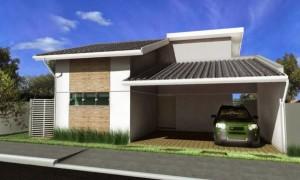 Casas com Garagem na Frente